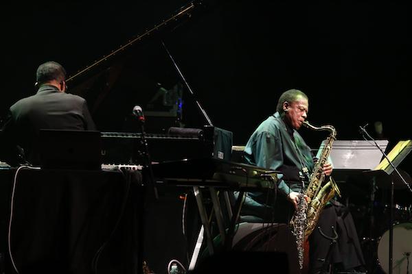 Herbie Hancock and Wayne Shorter perform at NJPAC